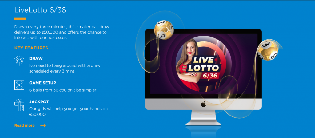 Lottery Supplier Helio Gaming launches Live Lotto 6/36